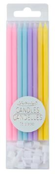"Kolli: 2 Rainbow Candles, 5"" (16 pcs)"