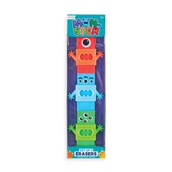 Kolli: 18 Monster Erasers - Set of 3