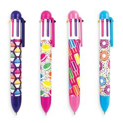 Kolli: 1 Six Click Ballpoint Pens - Display of 24 - Sweet Things
