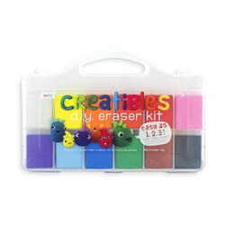 Kolli: 6 Creatibles DIY Eraser Kit - Set of 12