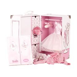Kolli: 1 Clothes trunk set Karl for standing dolls