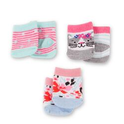 Kolli: 2 Socks set dins and cats, 30-50 cm