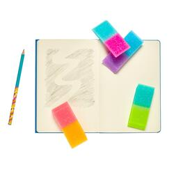 Kolli: 1 Oh My Glitter! Jumbo Erasers - Display of 12