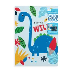 Kolli: 6 Doodle Pad Duo Sketchbooks: Dino. Days - Set of 2