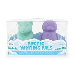 Kolli: 18 Arctic Writing Pals Erasers & Sharpeners - Set of 2