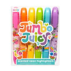 Kolli: 6 Jumbo Juicy  Scented Highlighters - set of 6