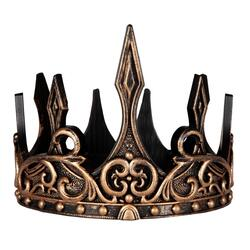 Kolli: 3 Medieval Crown, Gold/Black