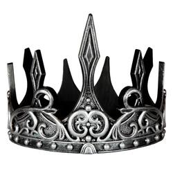Kolli: 3 Medieval Crown, Silver/Black