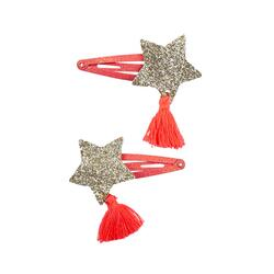 Kolli: 6 Boutique Sassy Tassy Star Hairclips, 2 Pcs
