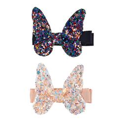 Kolli: 6 Boutique Rockstar Butterfly Hairclips, 2 Pcs