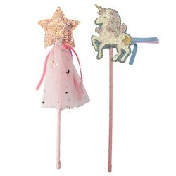 Kolli: 6 Boutique Unicorn Star Wands