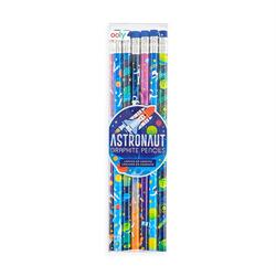 Kolli: 12 Graphite Pencils - Set of 12 - Astronaut