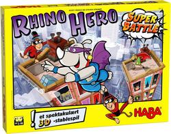 Kolli:  Rhino Hero Super Battle (Dansk)