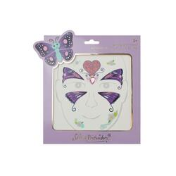 Kolli: 6 Butterfly Fairy Face Stickers