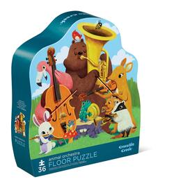 Kolli: 2 36 pcs Shaped Puzzle/Animal Orchestra