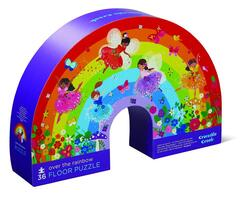 Kolli: 2 36 pcs Shaped Puzzle/Over the Rainbow