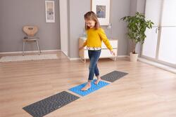 Kolli: 1 Pebble Beach Sensory Mat, blue