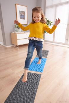 Kolli: 1 Pebble Beach Sensory Mat, Set