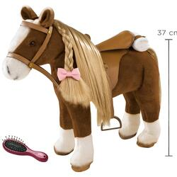 Kolli: 2 Combing Horse, brown beauty, 52 cm