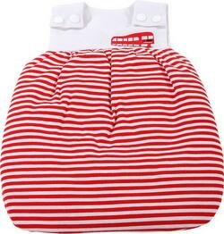Kolli: 2 Sleeping bag, red stripes