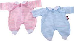 Kolli: 2 Romper, pink stripes