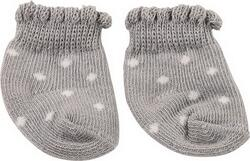 Kolli: 4 Socks, spotty gray