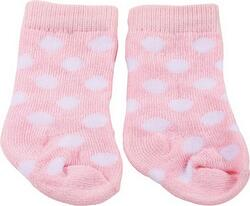 Kolli: 4 Stockings, spots on pink
