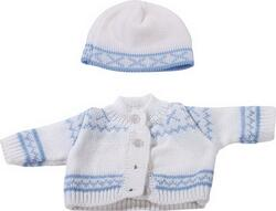 Kolli: 2 Knitting ensemble, blue Norwway