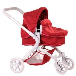 Kolli: 1 Doll stroller 4-wheel, 2 in 1, Felt