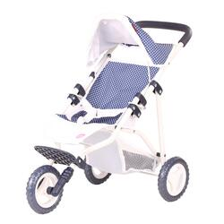 Kolli: 1 3-wheel buggy, spotty blue