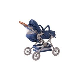Kolli: 1 Doll stroller 4-wheel, denim