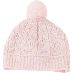 Kolli: 3 Knitted hat, Glitzerzopf