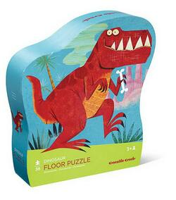 Kolli: 2 36 pc Shaped Puzzle/Dinosaur
