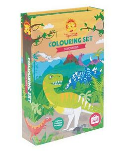 Kolli: 2 Colouring Sets/Dinosaur