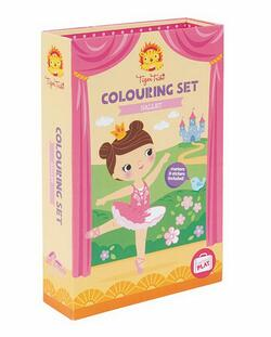 Kolli: 2 Colouring Sets/Ballet