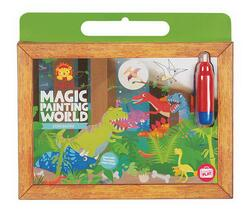 Kolli: 2 Magic Painting World/Dinosaurs (New packaging)