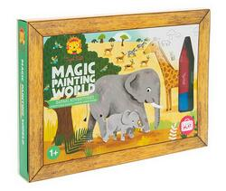 Kolli: 2 Magic Painting/Safari Adventures (New)