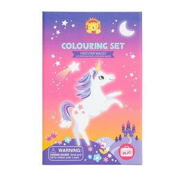Kolli: 2 Colouring Sets/Unicorn Magic (New)