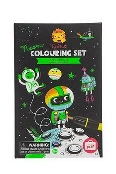 Kolli: 2 Neon Colouring Sets/Outer Space (New)