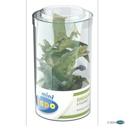 Kolli: 1 Mini PLUS Dinosaurs Set 2 (Tube, 6 pcs)