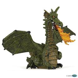 Kolli: 5 Green winged dragon with flame