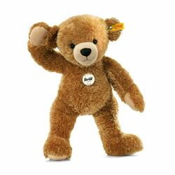 Happy Teddy bear, light brown - 28 cm
