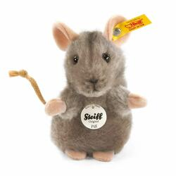 Piff mouse, grey - 10 cm