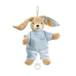 Kolli: 1 Hoppel rabbit music box, blue