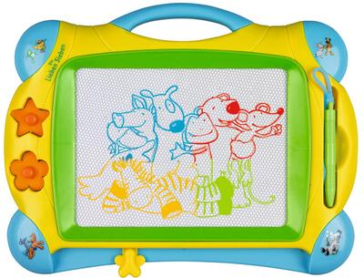 Kolli: 3 Magnetic drawing board The Friendly Seven