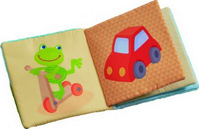 Kolli: 4 Fabric book Magic frog