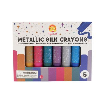 Kolli: 1 Metallic Silk Crayons (12 pcs)