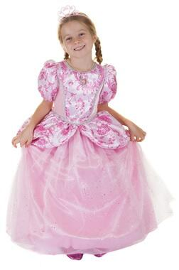 Kolli: 1 Royal Pretty Princess Dress, Pink, Size 7-8