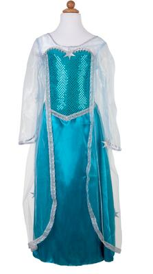 Kolli: 2 Ice Queen Dress With Cape, Size 5-6