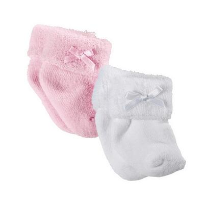 Kolli: 4 Set of socks, pink/white, 30-42 cm, 2 pair
